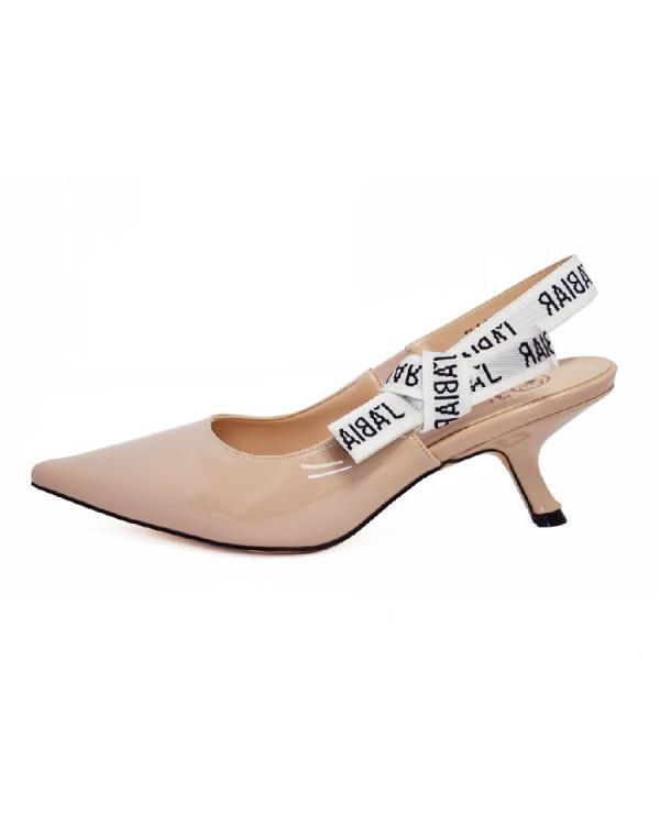 Туфли женские арт. 57-D434-S672-6 бежевый