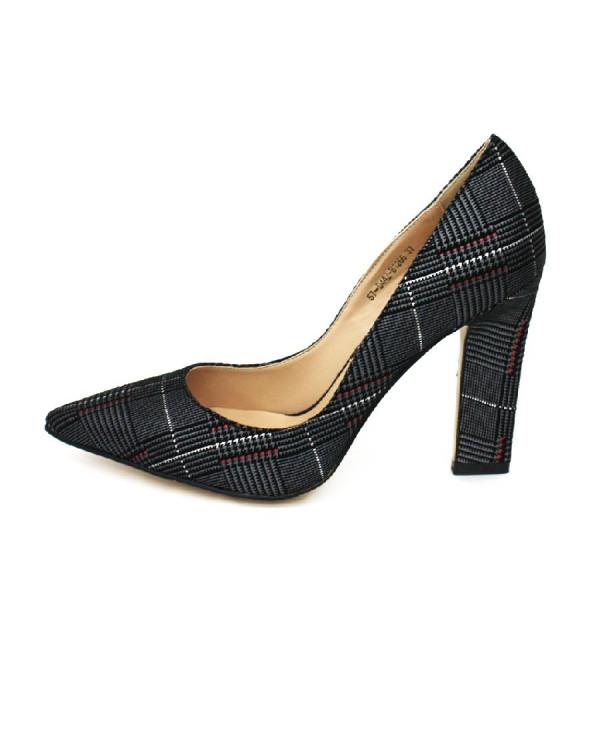 Туфли женские арт. 57-D442-B1266 серый
