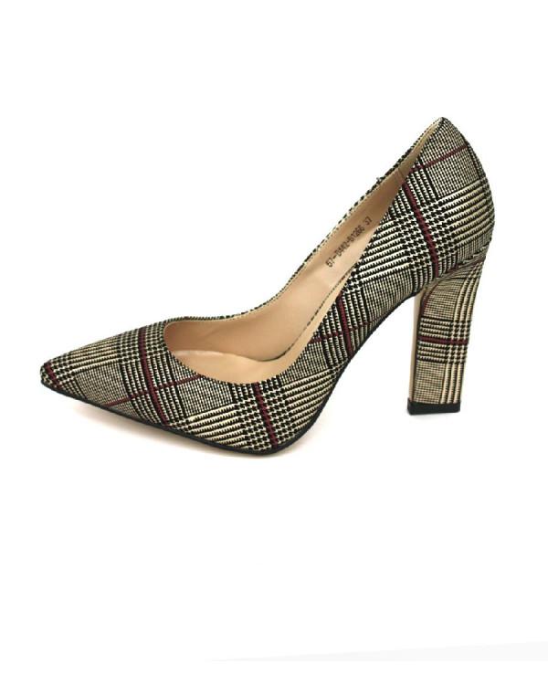 Туфли женские арт. 57-D442-B1266 бежевый