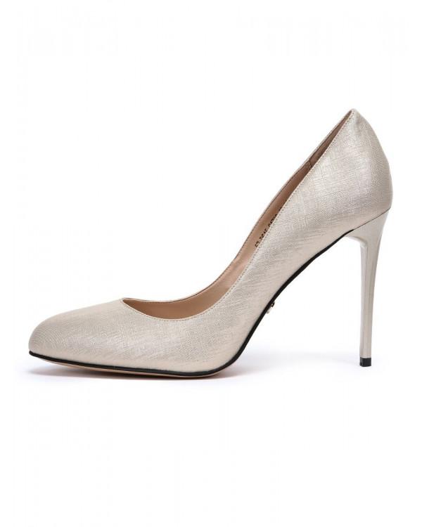 Туфли женские арт. 57-D615-S1733-10 золотой