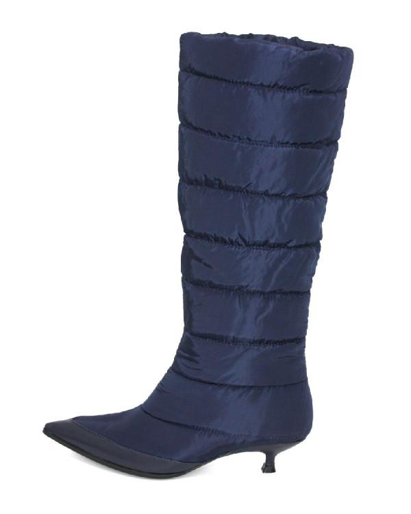 Сапоги женские арт. 57-H1028C-B1609-3 синий