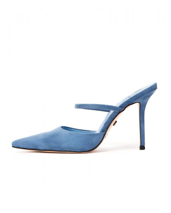 Мюли женские арт. 57-H1177-K998-10 синий