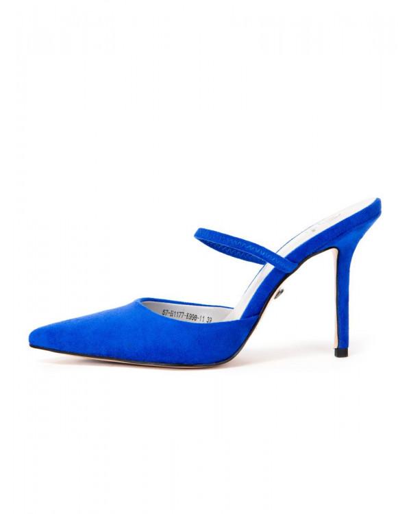 Мюли женские арт. 57-H1177-K998-11 т.синий