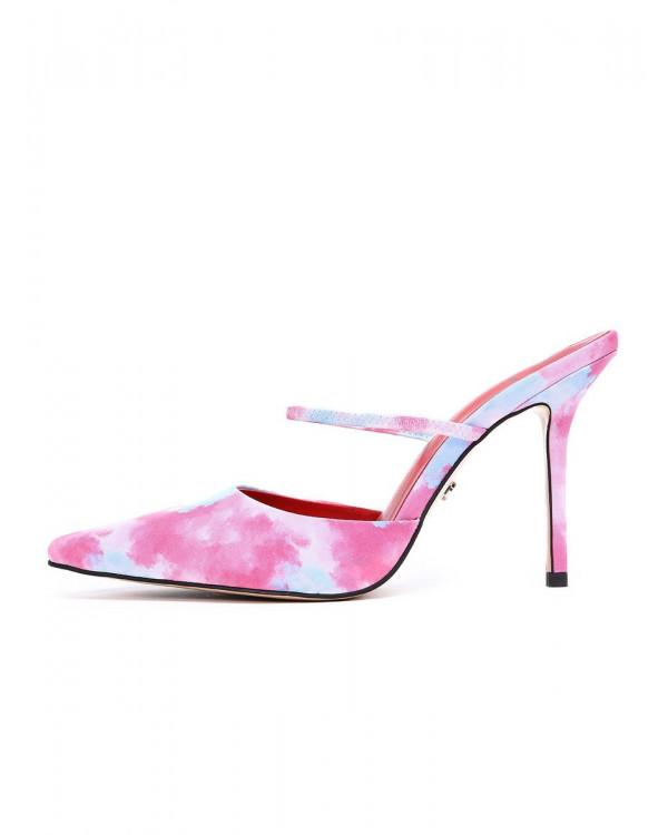 Мюли женские арт. 57-H1177-K998-19 розовый/голубой
