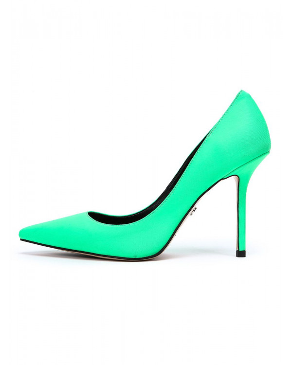 Туфли женские арт. 57-H1177B-G708-1 зелёный