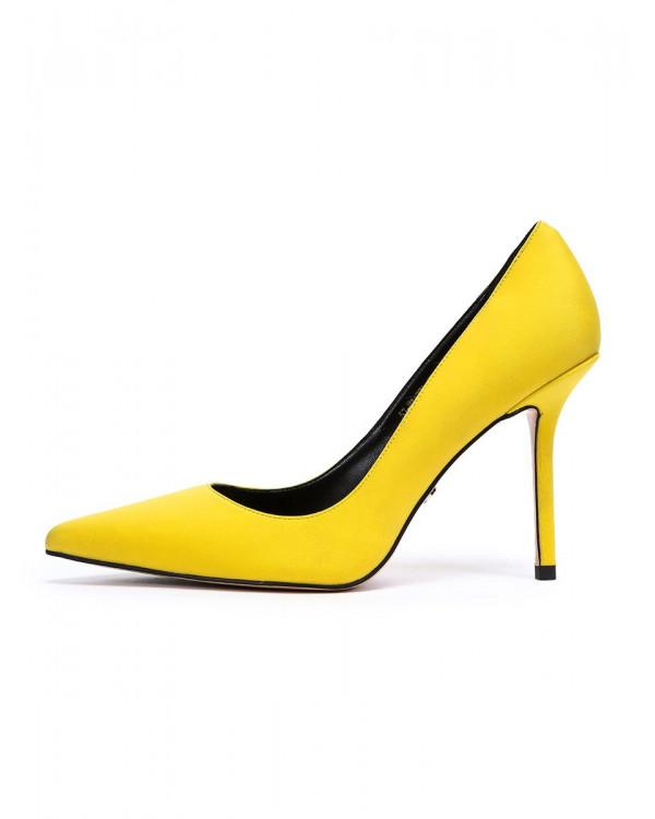 Туфли женские арт. 57-H1177B-G708-2 жёлтый