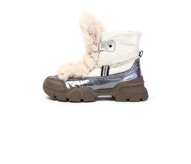 Ботинки женские арт. 57-H1294AM-K1443-2 бежевый