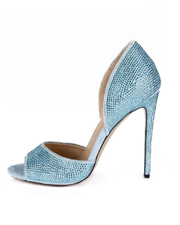 Туфли женские арт. 57-V258-A01-I голубой