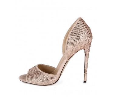 Туфли женские арт. 57-V258-A01-J золото