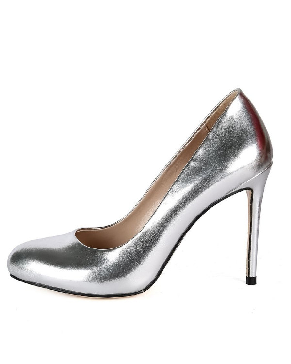 Туфли женские арт. 57-V436-A711-19 серебро