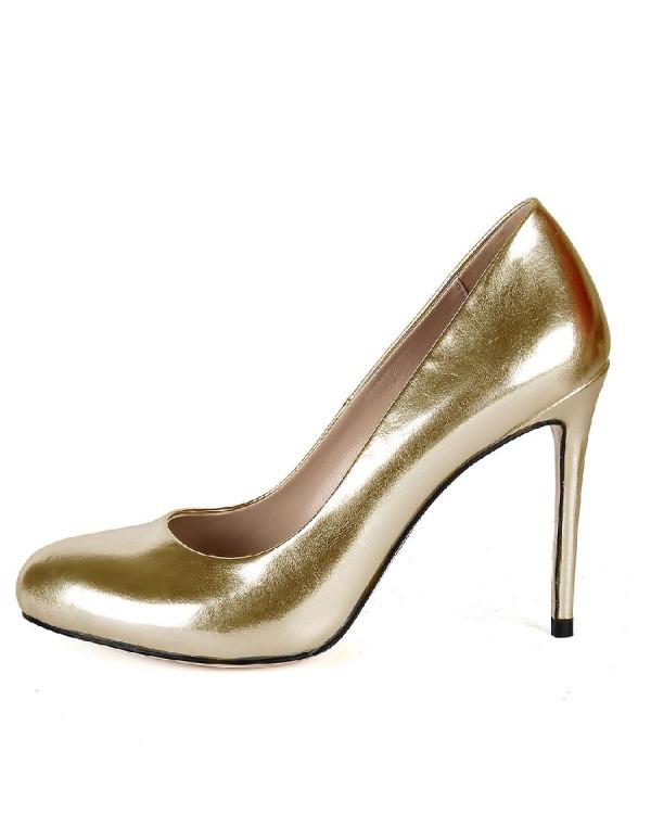 Туфли женские арт. 57-V436-A711-19 золото