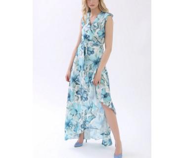 Платье женское арт. M-1082 голубой