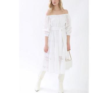 Платье женское арт. MD-21-003-1 белый