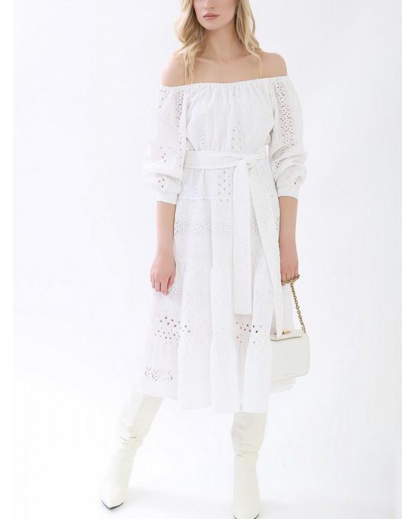 Платье женское арт. M-1164 белый