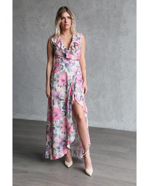 Платье женское арт. MD-21-004 розовый