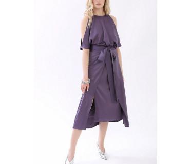 Платье женское арт. MD-21-005 фиолетовый